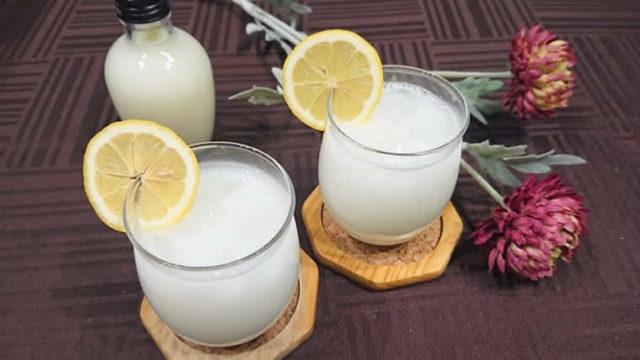 カルピスの牛乳割をかき氷に!?カルピス牛乳割りはトロッとした甘いシロップだ!?
