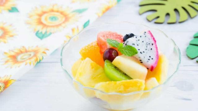 冷凍フルーツダイエット!?少量でも満足感、生より高い栄養価!?